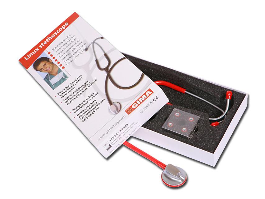 LINUX stetoscop - Y roșu