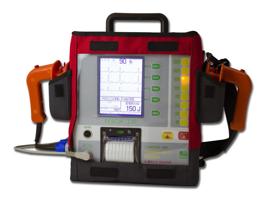 RESCUE 230 bifazic defibrilator cu imprimanta