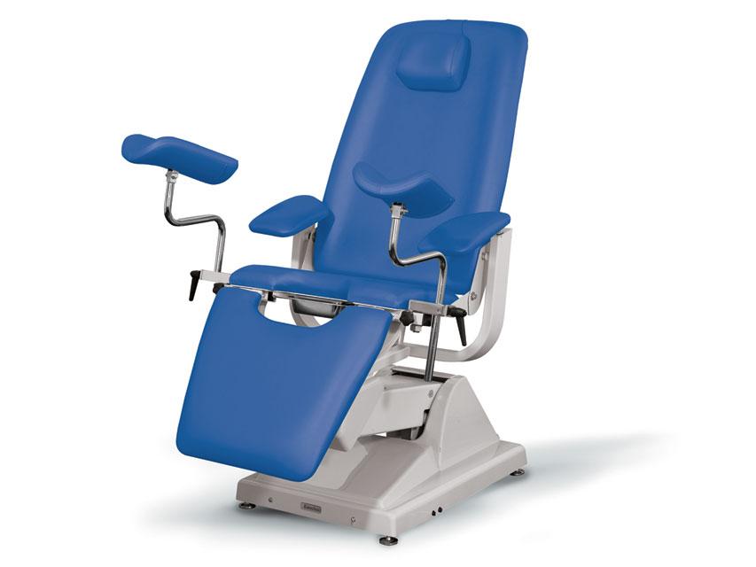 Gynex SCAUN ginecologic PROFESSIONAL - albastru