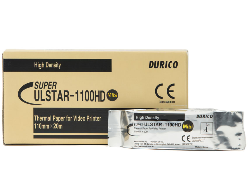 DURICO VIDEOPRINTER HÂRTIE compatibil Mitsubshi K65HM / KP65HM