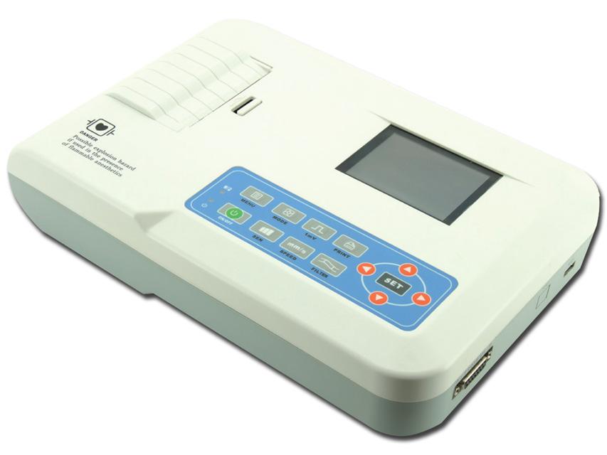 300G ECG - 3 canale cu monitor