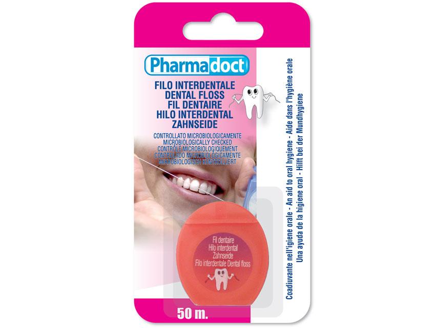 PHARMADOCT Ață dentară - cutie de 12 cutii