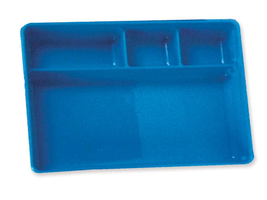 TAVA compartimentata 270x180x41 mm - material plastic