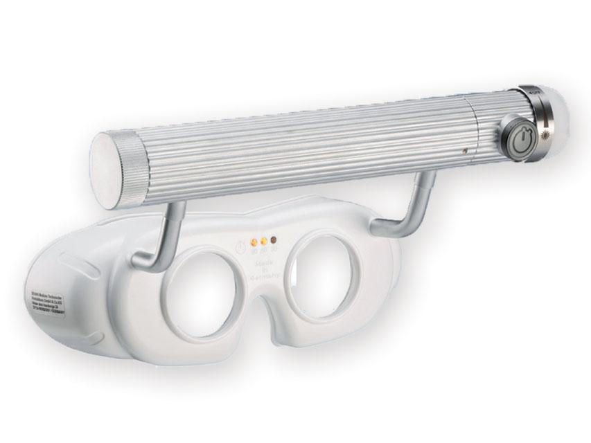 LED BATERIE DE OPERARE nistagmus SPECTACOLE - alb