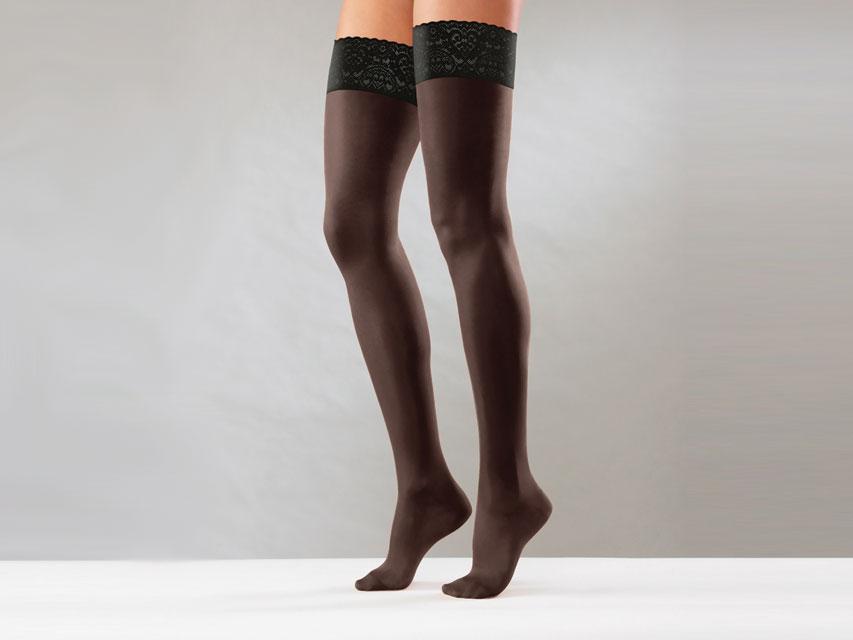 Ciorapi compresivi - S - compresie puternică - negru