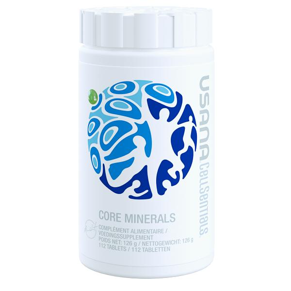 Core Minerals USANA, minerale esențiale