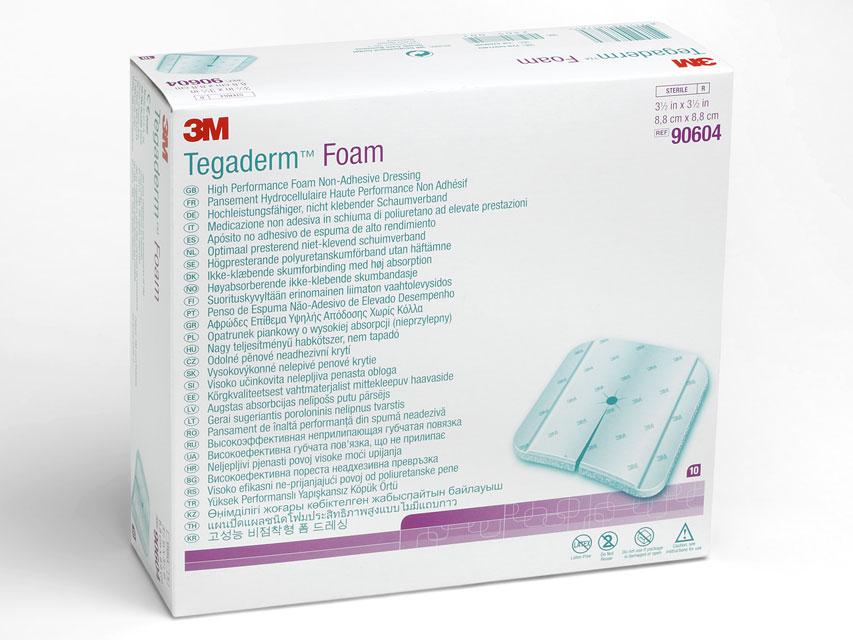 3M™ Tegaderm™Pansament SPUMĂ 9x9 cm - non adeziv