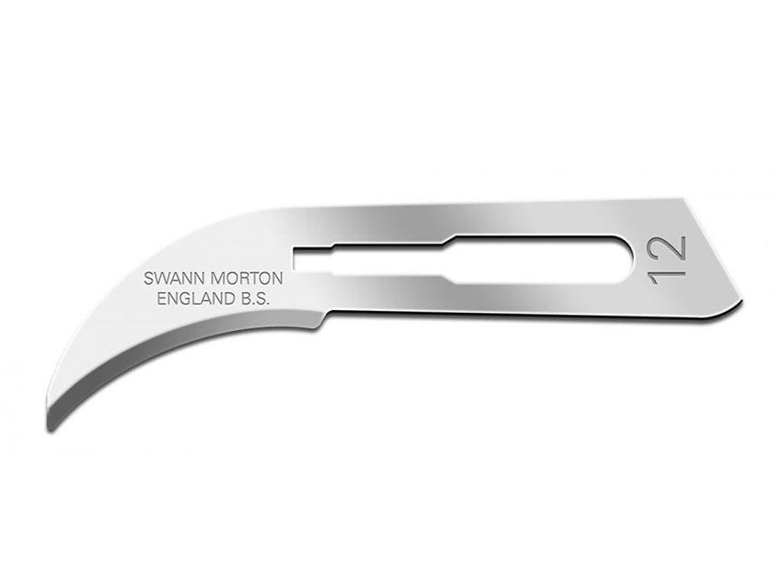 SWANN-MORTON Lama de bisturiu  N. 12 - sterile