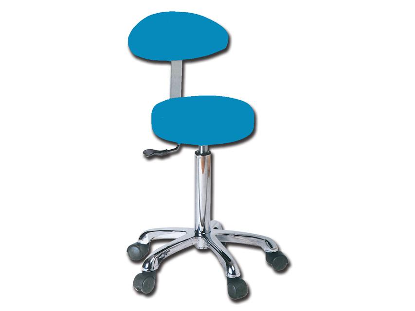 Scaun cu spatar - albastru