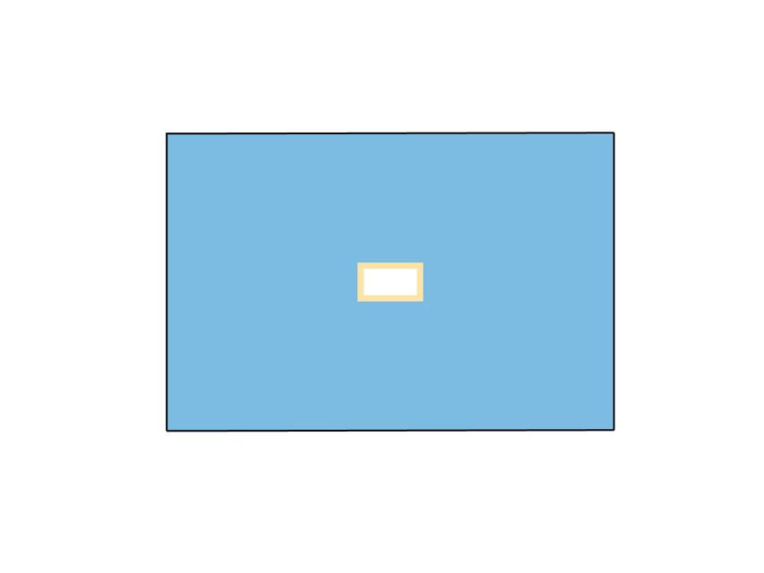 Cearșaf chirurgical impermeabil  100x150 cm cu gaura 9x18 cm