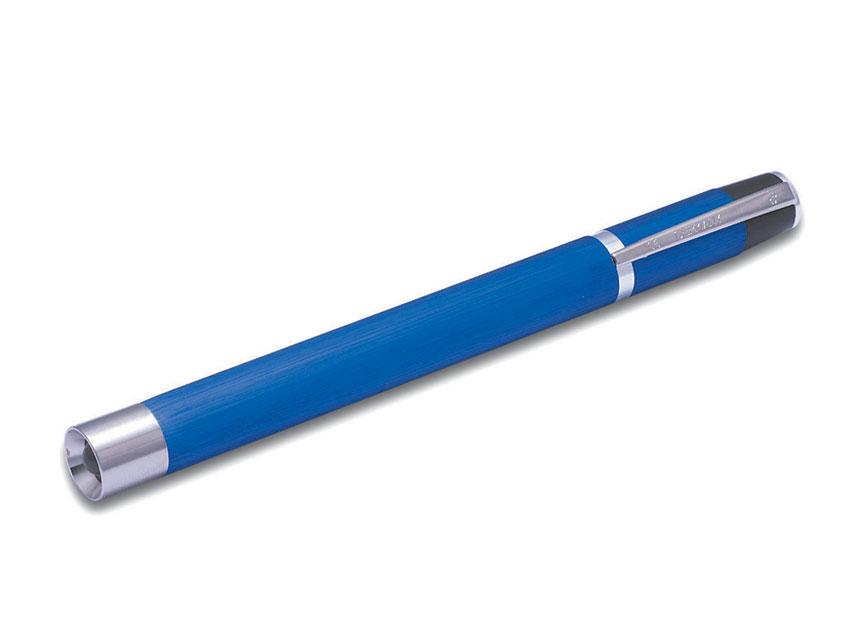 Argenta LED lanterna - din metal - albastru