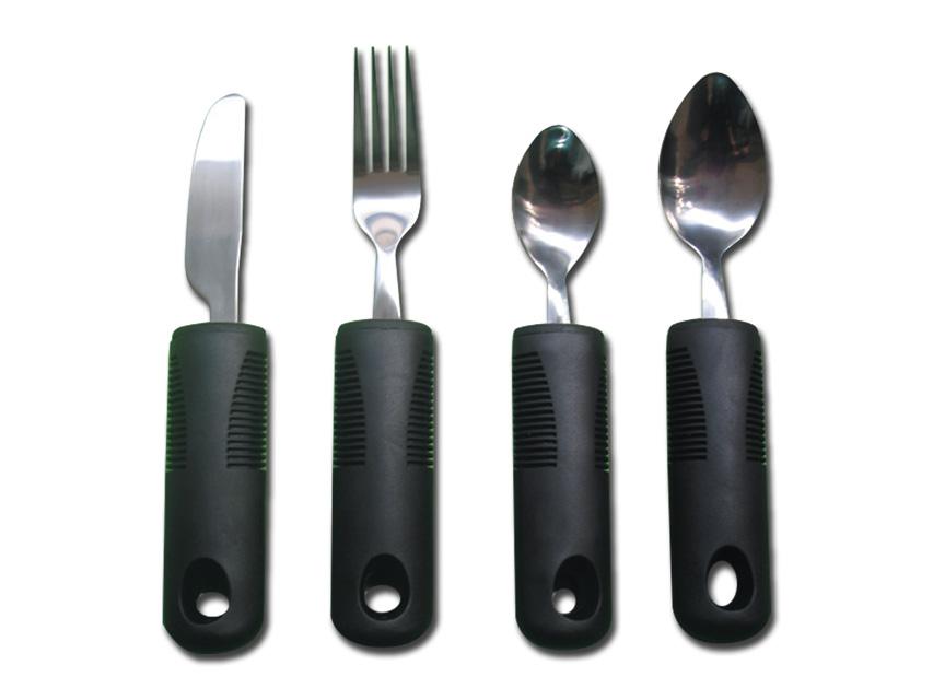 Deformabilă CUTLERY SET (furculita, cutit, lingura mici și mari)