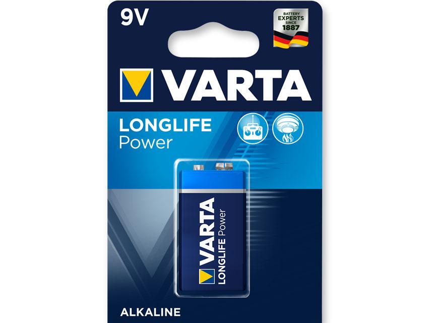 VARTA ALCALINE - 9V