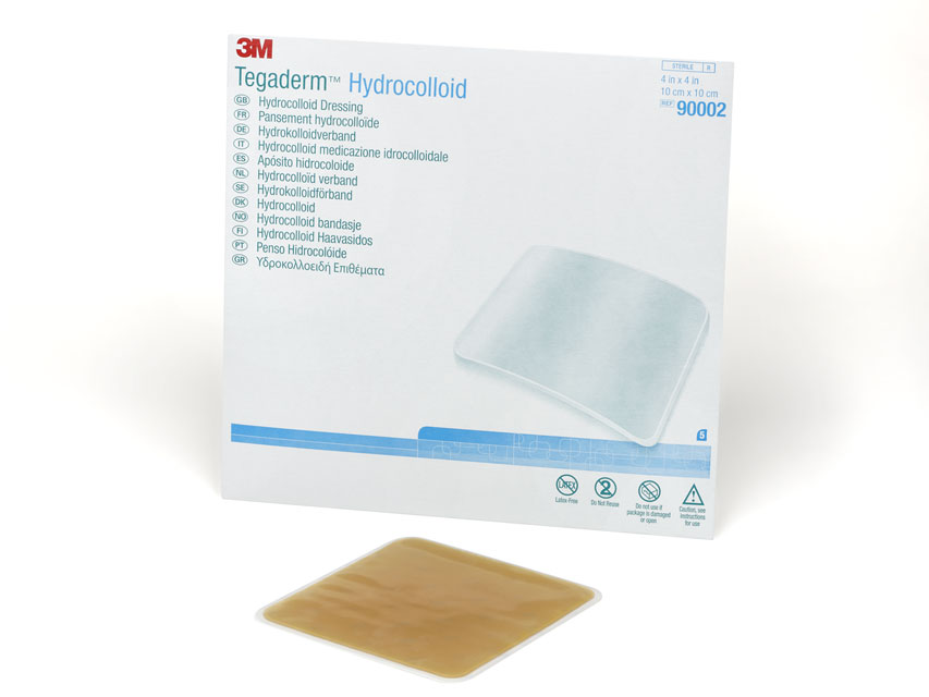 3M™ Tegaderm™Pansament hidrocoloidală 10x10 cm - pătrat