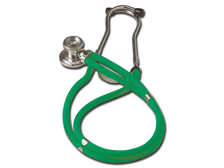RAPPAPORT  CAPSULA DUBLA  stetoscop - Y verde