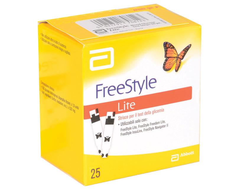 ABBOTT FREESTYLE LITE Teste de glicemie