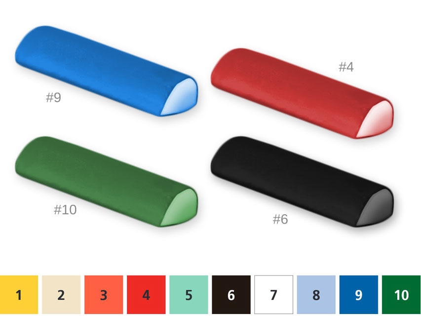 Semicilindrica PERNA 20x50x10 - orice culoare