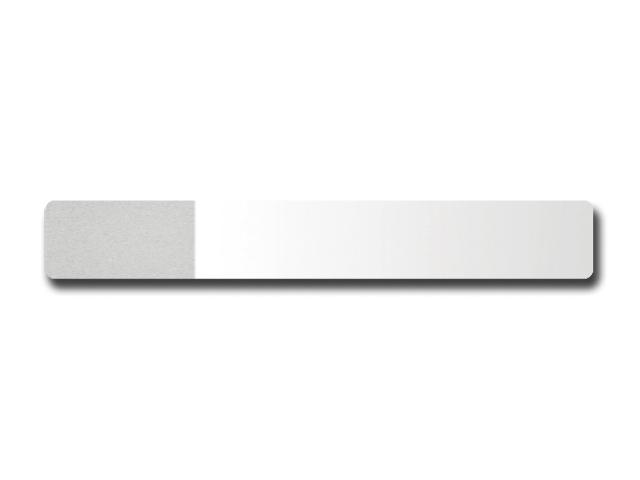 SLIDE 26x76 mm - geamăn înghețat în ambele capete