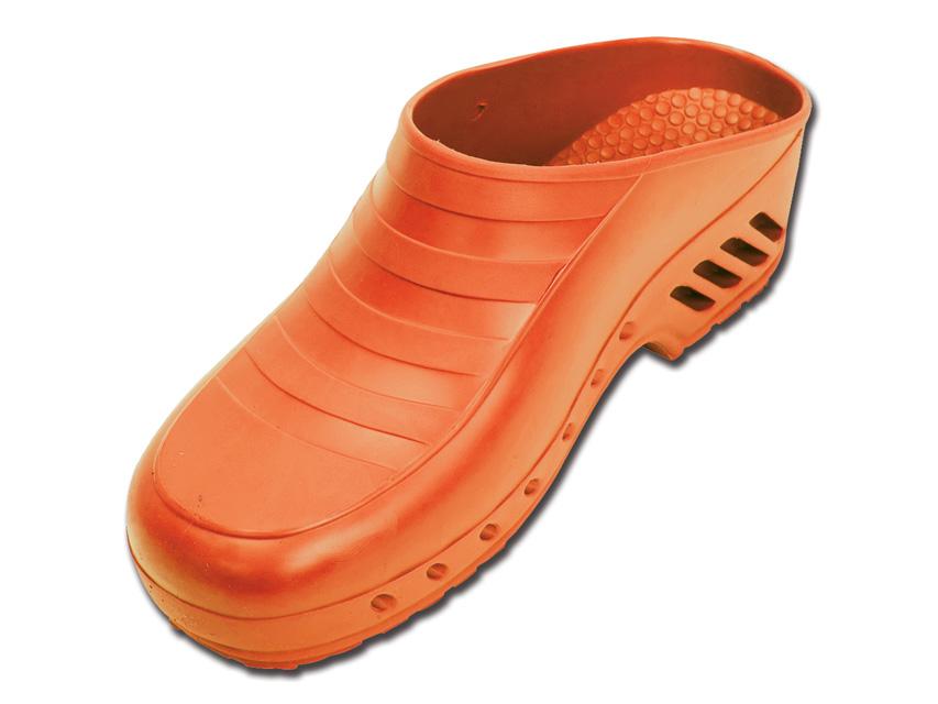 SABOTI MEDICALI - fara gauri- 45-46 - portocaliu