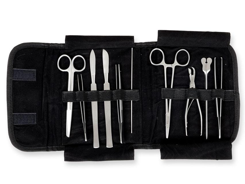 Trusa chirurgicala CLASSICA - sac de nailon - 10 bucăți