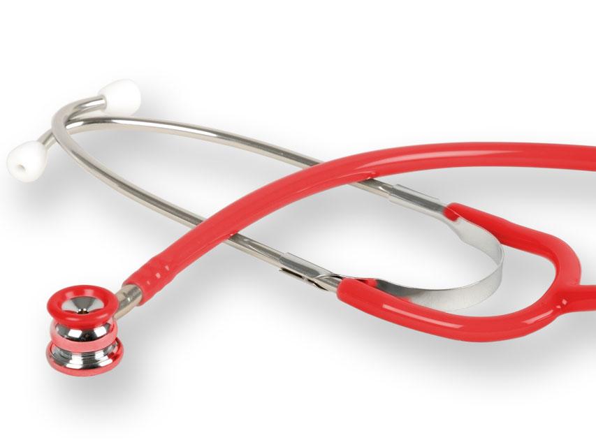 WAN NEONATALĂ stetoscop - rosu