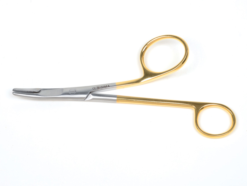 GOLD Gillies NEEDLE SUPORT - 16 cm