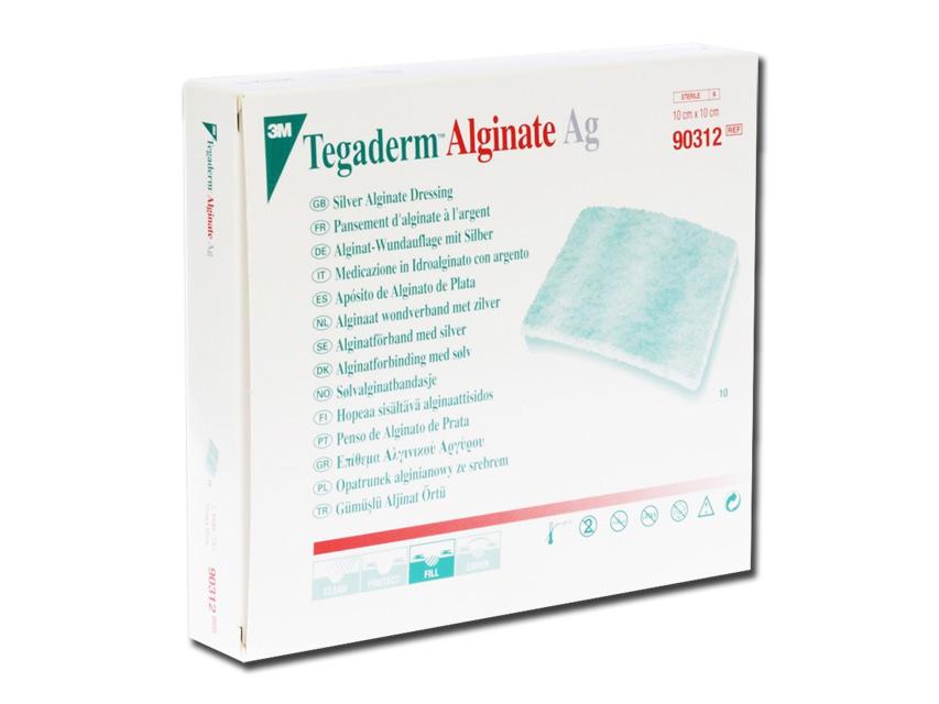 3M™ Tegaderm™Pansament  AG cu argint 10x10 cm