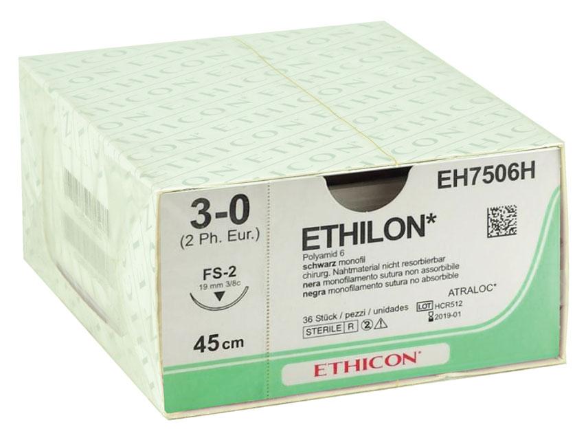 Fir de sutura ETHICON - ecartament 3/0 ac 19 mm