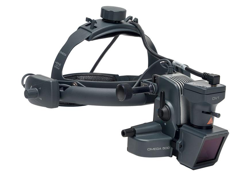 HEINE OMEGA 500 LED-uri HQ oftalmoscop CU DV1 Cameră video digitală