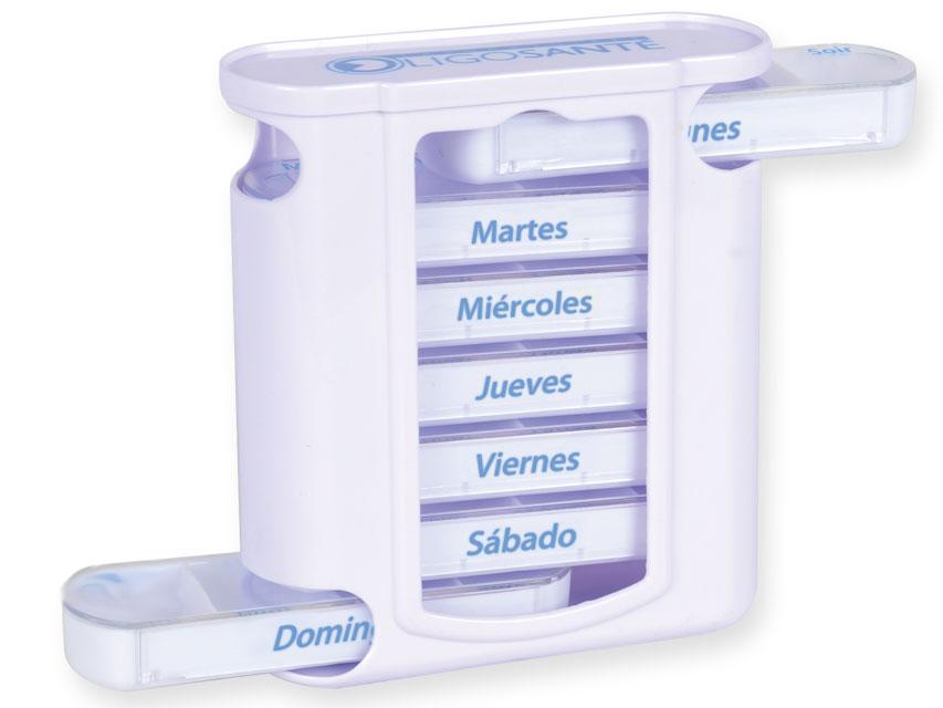 7 zile ORGANIZATOR MEDICAMENTE x 4 - Spaniolă-Portugheză