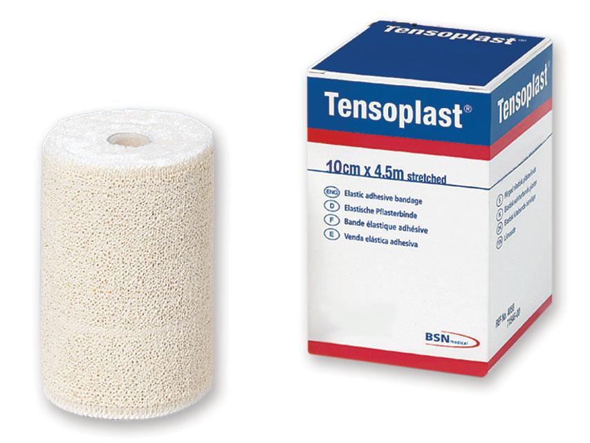TENSOPLAST ELASTIC ADEZIV bandajele 4,5 m x 10 cm
