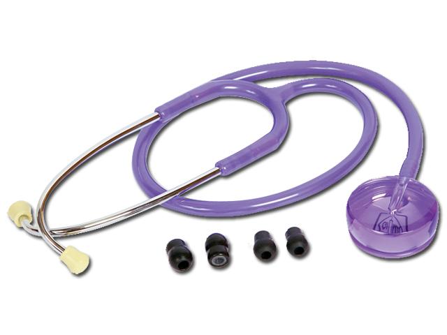 PROIECTARE stetoscop - transparent violet deschis