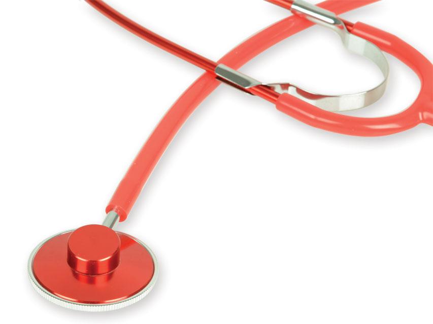 COLORAT TRAD stetoscop - rosu