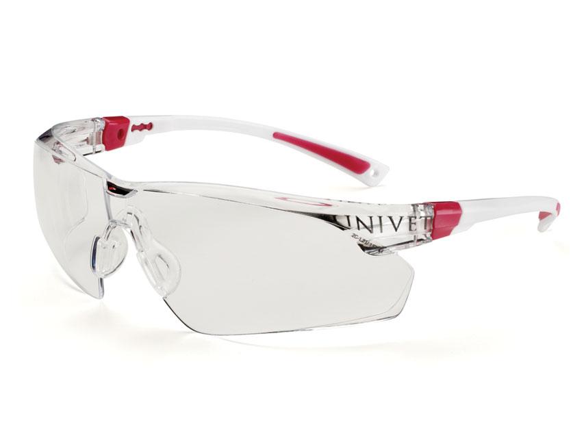 Ochelari protectie - roz - ceață rezistent, anti-zgarieturi Plus