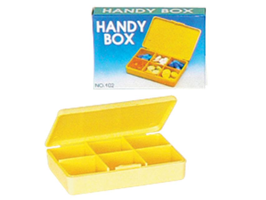 ZILNIC HANDY PILULA BOX - galben