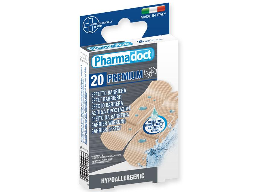 PHARMADOCT plasturi hemostatic - cutie de 12 cutii de 20