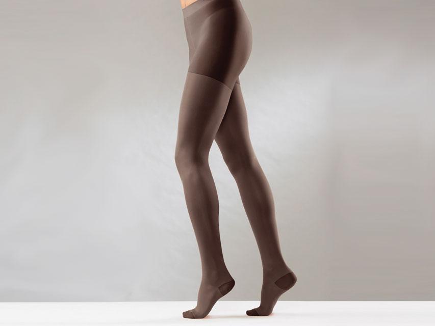 Ciorapi compresivi - XXL - compresie medie - negru