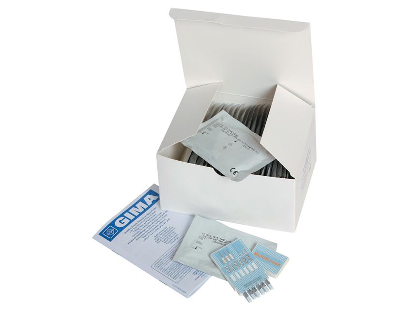 TESTE DE multirezistenta PANOU - 12 medicamente - urină