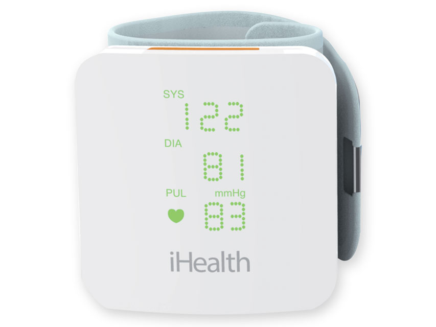 iHEALTH vew BP7S Tensiometru arterial - încheietura mâinii cu afișaj