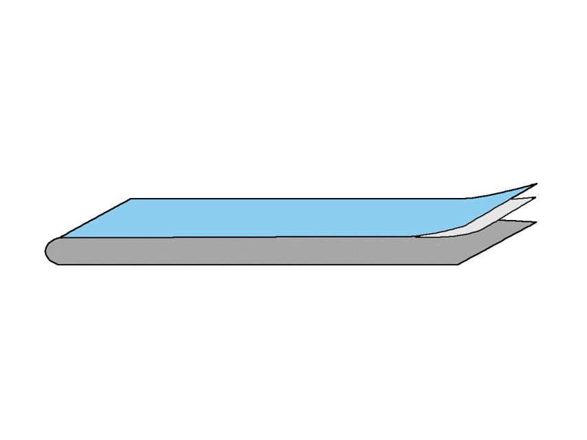 ADEZIV STRIP 10x50 cm - sterile
