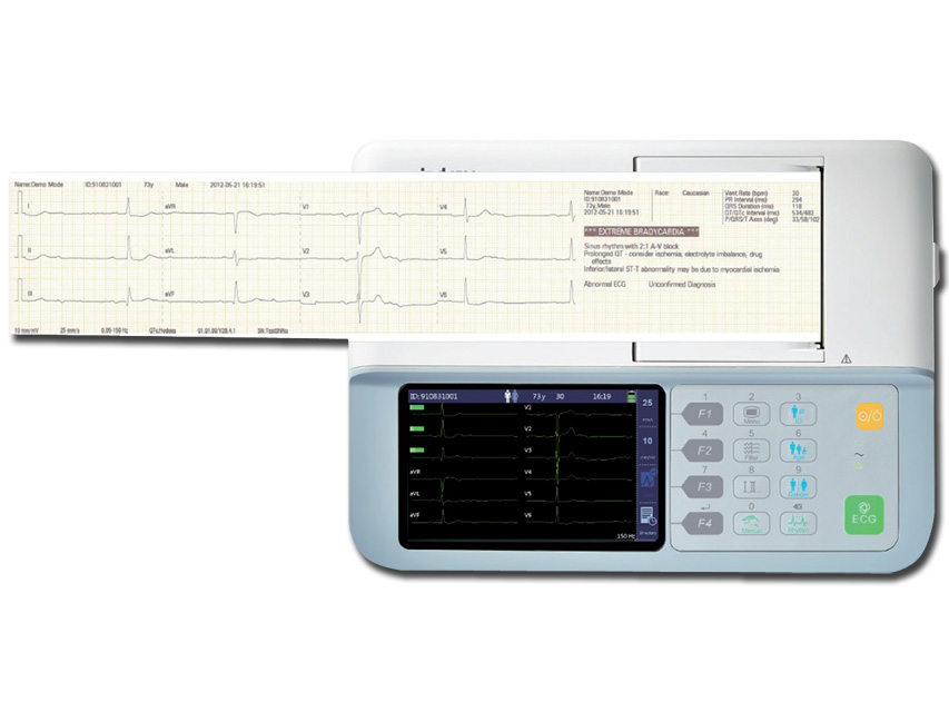 Mindray BENEHureche T R3 electrocardiograf