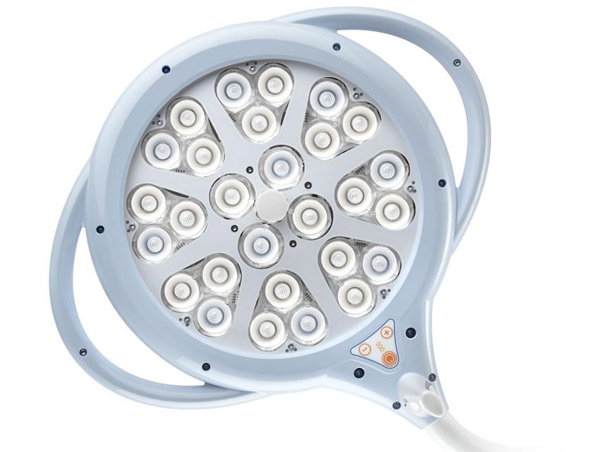 PENTALED 28 LED-uri de lumină - plafon dublu