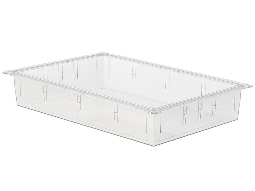 SERTAR PLASTIC TRANSPARENT ISO 600x400x100 mm - închis