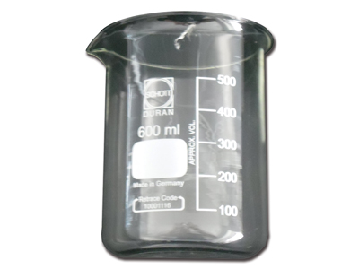 GLASS Beaker 600 ml