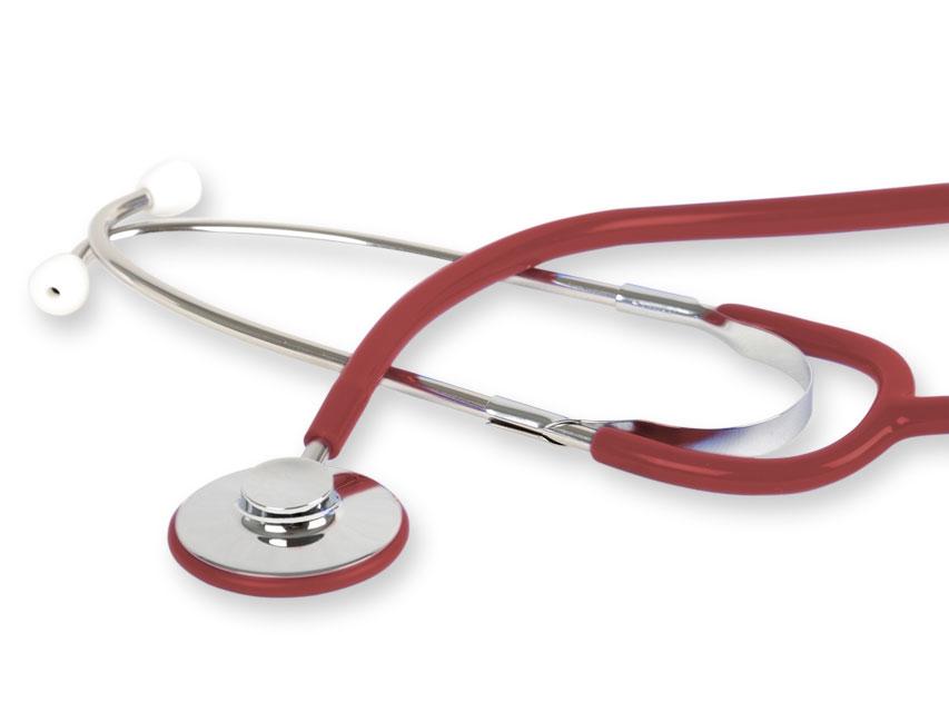WAN stetoscop - Y burgund