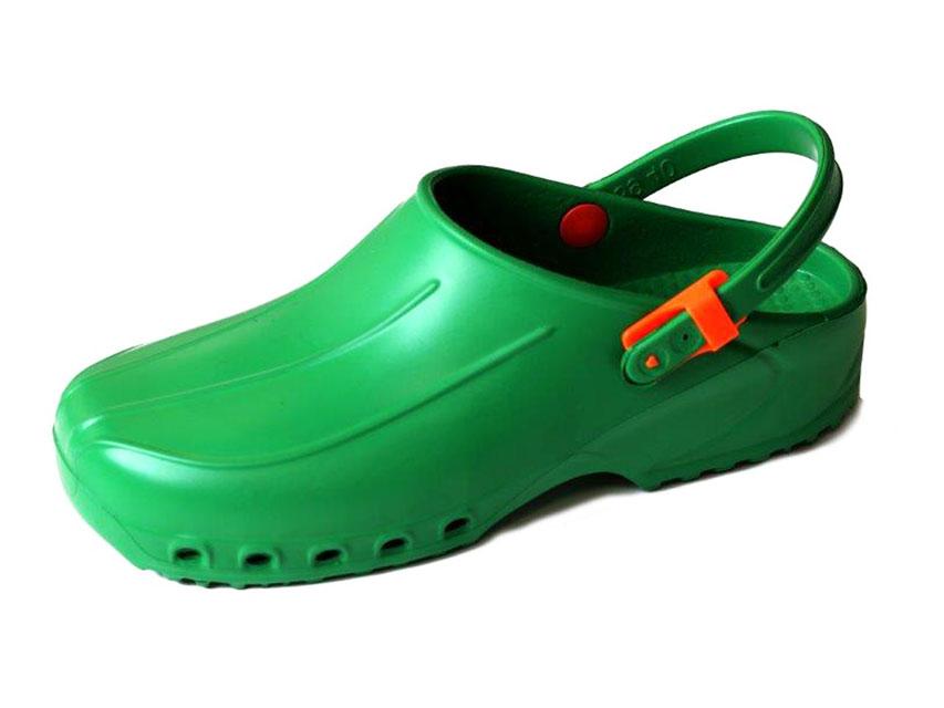 SABOTI MEDICALI FOARTE USORI cu bareta - 36 - verde