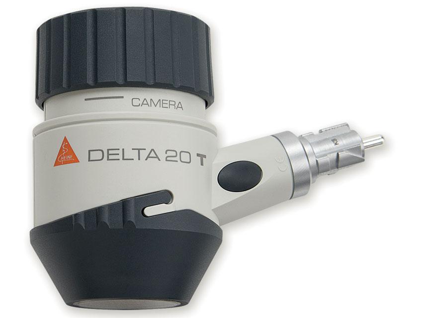 HEINE DELTA 20 T LED-dermatoscope cap cu placă de contact și gradat la scară