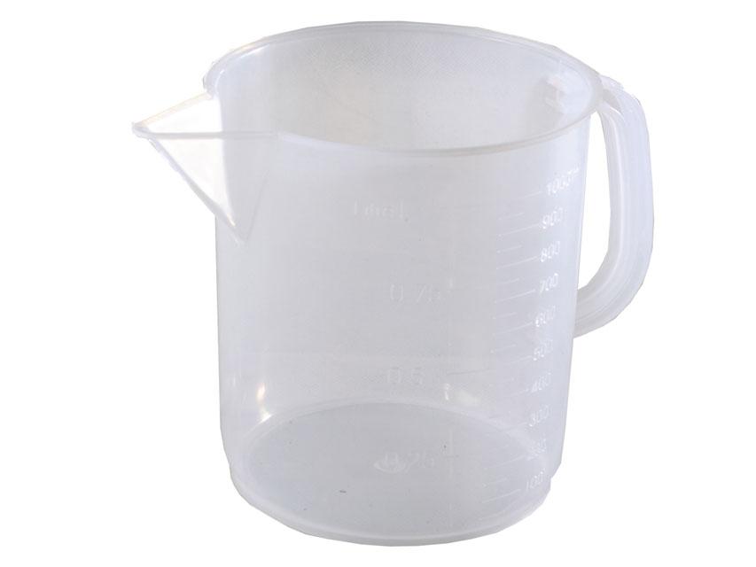 RECIPIENT MĂSURAREA 1000 ml - plastic