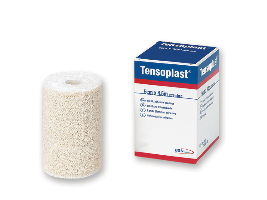 TENSOPLAST ELASTIC ADEZIV bandajele 4,5 m x 5 cm