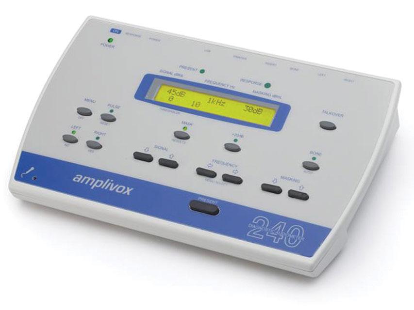 AMPLIVOX 240 DIAGNOSTIC audiometru - aer, os, masca de conducere